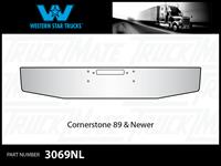 Western Star Cornerstone 1989 & Newer Tapered Chrome Bumper